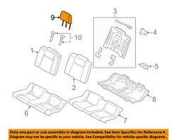 Ford Oem 13-14 Mustang Rear Seat-headrest Head Rest Right Dr3z54611a08ce