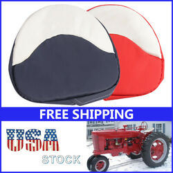 2 Colors Tractor Seat Cushion Padded Fit For Farmall H M Series 300 450 Cub