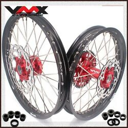 Vmx 21 19 Motorcycle Mx Wheel Rim Fit Ktm Exc Xcw 125 450 2003-2021 With Disc