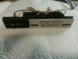 Kenwood Kd-5033a Stereo Turntable Parting Out Play/cut Repeat Control