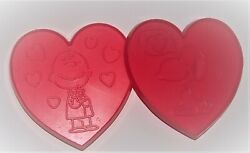 Vintage Snoopy And Charlie Brown Heart Cookie Cutters 4 3/4