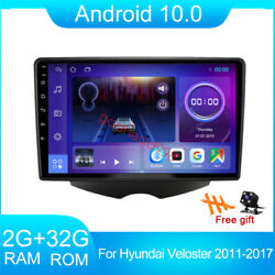 For Hyundai Veloster 11-17 32gb Android 10.0 Car Stereo Radio Gps Navi Player