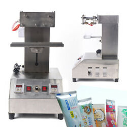 Pneumatic Tube Sealing Machine For Toothpaste, Ointment, Ink, Hair Cream 110v
