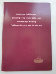 Omega Watch Red Dressing Components Catalogue - 1992 - Very Rare And Collectable
