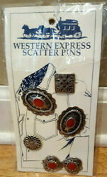 Nos Western Express Scatter Pins Collectibles Gift