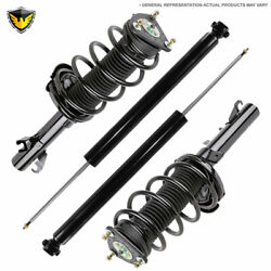 Front Rear Strut Spring And Shocks For Toyota Sienna 1998-2003