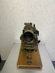Imperial Japanese Army Artillery Theodolite 1955 Showa Military Antique Japan
