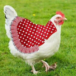 3 Pieces Chicken Saddle Chicken Jacket Hen Apron Feather Fixer Poultry Wing