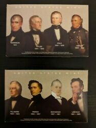 2009 And 2010 Us Presidential 1 Proof Set In Box