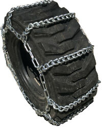 Snow Chains 16.9 26 16.9-26 Ladder Tractor Tire Chains Set Of 2