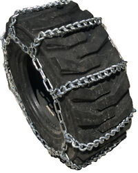Snow Chains 16.9 34 16.9-34 Ladder Tractor Tire Chains Set Of 2
