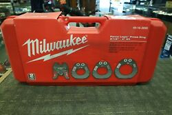Milwaukee 49-16-2690 Force Logic Press Ring New In Case