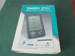 Rare Tandy Z Pda 25-3100 Zoomer Personal Digital Assistant+ Software