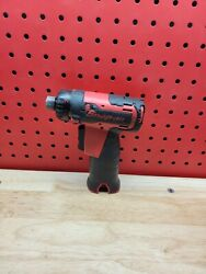 Snap-on Cts761a 14.4v 1/4 Hex Microlithium Cordless Screwdriver Red Tool Only