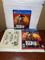 Red Dead Redemption 2 Special Edition Ps4 - Sony Playstation 4 W/ Maps