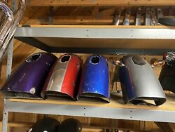 Used Victory Kingpin Rear Fenders - Lot Of 4 - Xc Saddlebag Conversion