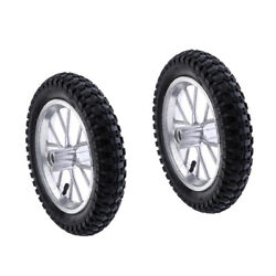 2x Mini Dirt Bike Pocket Bike Wheels And Tyre Tire Rear+front 12 For 49cc