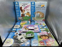 Leap Frog Little Touch Library Lot Of 8 See - Infant And Toddler 7 Books 8 Carts