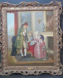 French Paris Romantic School Oil By Pierre Delage B.1883 To £3,000 At Auction