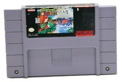 Super Mario World 2 Yoshiand039s Island - Snes Nintendo Game Tested And Authentic