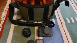 Canon Eos R6 Kit W 50mm , 35mm Lens Lenses And A Case Mint Condition