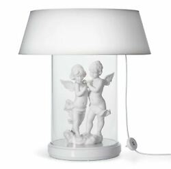 Lladro Retired Lamp Re-deco. Large Glass Case Us 01007081