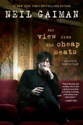 Neil Gaiman The View From The Cheap Seats Hardcover 2016 -- No Reserve