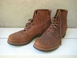 Wwii Ww2 Roughout Leather Boots Weyenberg Shoe Co.