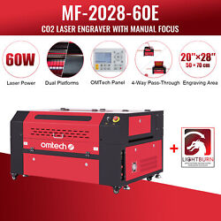 Omtech 60w 20x28 Inch Co2 Laser Engraving Cutting Etching Machine With Lightburn