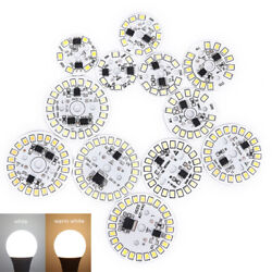 Led Bulb Patch Lamp Smd Plate Circular Module Light Source Plate For Bulb Liyss