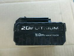 Porter Cable Pcc683l 20v Max Lithium-ion 3.0ah Battery