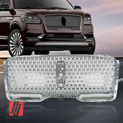 Fits Lincoln Navigator 2018-2021 Front Upper Grille Assembly Chrome Factory