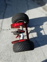 Snapper Rear Engine Riding Lawn Mower Transaxlewheels And Tires.