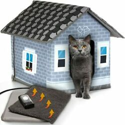 Heated cat Houses for Outdoor Cats in Winter Heated Outdoor cat House