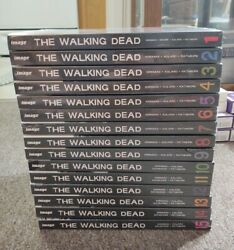 The Walking Dead Hardcover Book Lot 1 - 15 Complete By Image