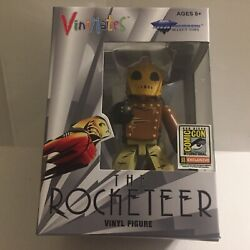 New 2020 San Diego Comic Con At Home The Rocketeer Vinimates Figure 300 Limited