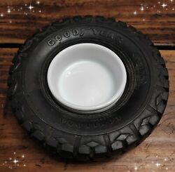 Vintage Very Rare Goodyear Tire Tyre Argentina Ashtray Ad Rubber Wheel