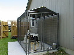 Kennel Cover Kit 7x10 - 6 Truss For 1 Square Tubing Kennel