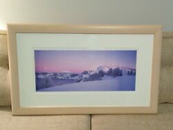 Rodney Lough Jr. Photograph, Serenity Speaks 1997 Signed Mountains Scenery