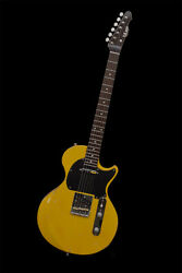T.s Factory 151a-jr Limited Tv Yellow Guitar From Japan Hfx204