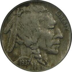1937 D Buffalo Nickel 3 Legs Ngc Au50 Some Luster And Great Patina