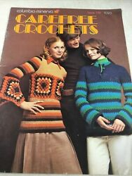 Carefree Crochet Book 779 By Columbia Minerva Featuring Shelley Hack 1972