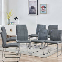 Dining Chairs Faux Leather Dinning Room Chairs Home Kitchen Living Room Chairs