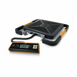 Portable Digital Shipping Postal Scale 400-lbs Weighs Usb-connect Plastic Black