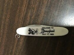 Very Rare Opening Day Disneyland Pocket Knife July 17, 1955 With Mickey Mouse