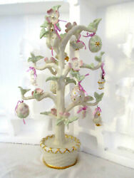 14 Lenox Easter Tree With 12 Hanging Ornaments Mib