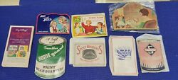 Vintage Sewing Needle Books Lot Of 8