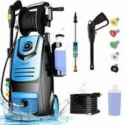 Suyncll 3800psi Pressure Washer 2.8 Gpm Electric Pressure Washer With1800w Re...