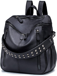 ROULENS Women PU Leather Backpack Purse Convertible Ladies Fashion Casual Travel $53.76