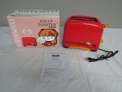 Hello Kitty Evangelion Asuka Pop-up Toaster Limited